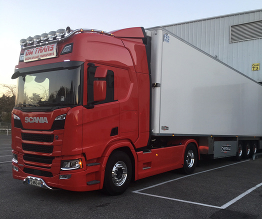 Entreprise de transport routierà Saint-Gaudens