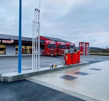 Prix de vente des carburants à notre nouvelle station